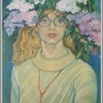 Константин Загоскин - портрет Елены Титовой